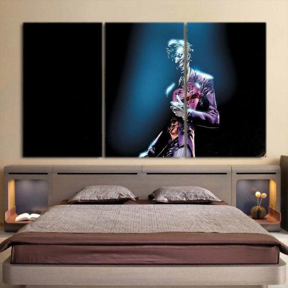 The Unpredictable Wicked Joker 3pcs Wall Art Canvas Print