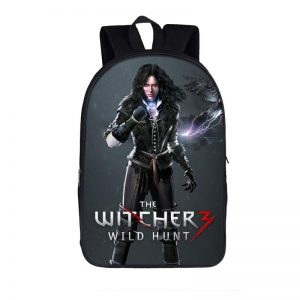 The Witcher 3 Wild Hunt Feisty Sorceress Yennefer Backpack Bag