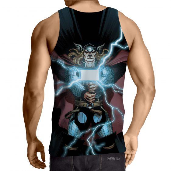 Thor Cartoon Super Avengers Magical Hammer Amazing Tank Top