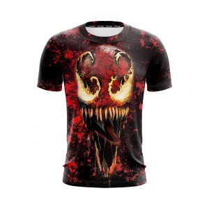Venom Carnage Symbiote Psychopath Supervillain Red T-Shirt