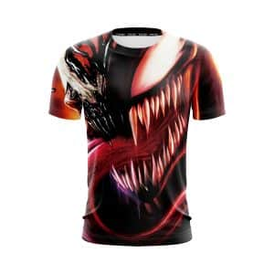 Venom Psychotic Carnage Symbiote Evil Supervillain T-Shirt