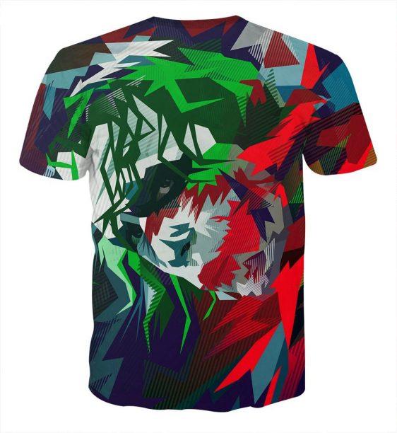Vibrant Dope Joker Cool Design Full Print T-Shirt