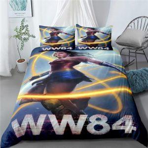 WW84 Wonder Woman Golden Lasso of Truth Bedding Set