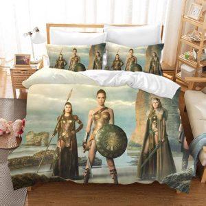 Wonder Woman Amazon Women The Paradise Island Bedding Set