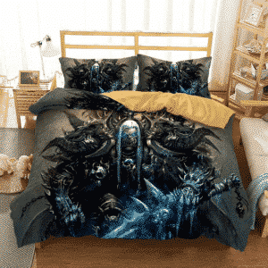 World of Warcraft Lich King Death Knight Dope Bedding Set