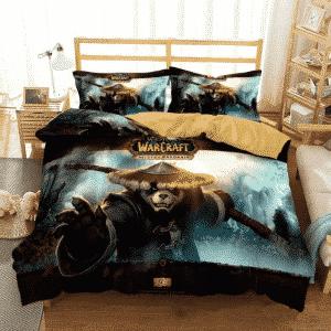 World of Warcraft Mists of Pandaria Awesome Bedding Set