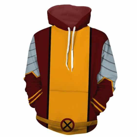 X-Men Colossus Piotr Rasputin Mutant Uniform Cosplay Hoodie