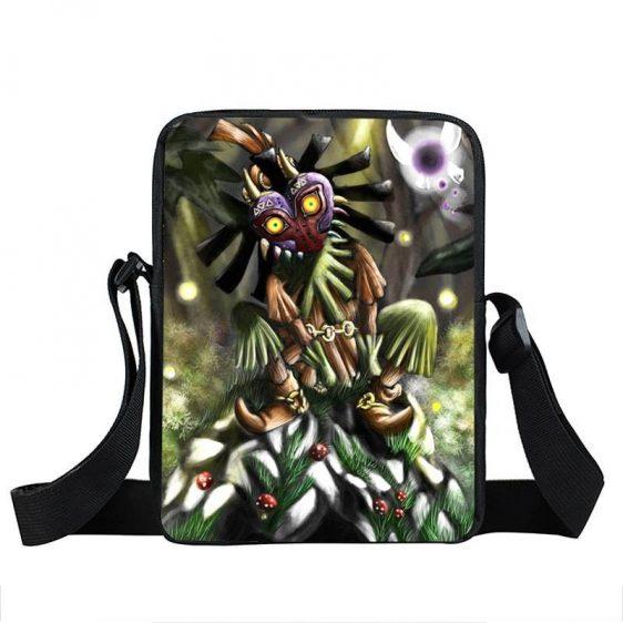 The Legend Of Zelda Skull Kid Majora's Mask Cross Body Bag