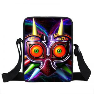 The Legend Of Zelda Majora's Mask Colorful School Cross Body Bag
