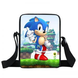 Sonic The Hedgehog 3D Greenhill Zone Cross Body Bag