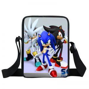 Sonic Silver Shadow The Hedgehog Epic Cross Body Bag
