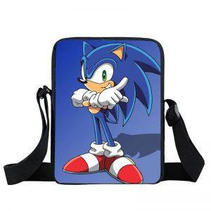 Sonic The Hedgehog Famous Arm Cross Pose Cross Body Bag