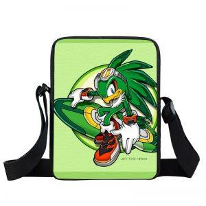 Sonic Riders Jet The Hawk Hover Board Green Cross Body Bag