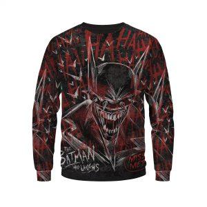 The Batman Who Laughs Bloody And Creepy Design Sweatshirt