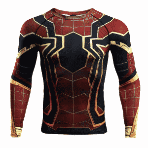 Spider-Man Infinity War Costume Long Sleeve Compression Shirt