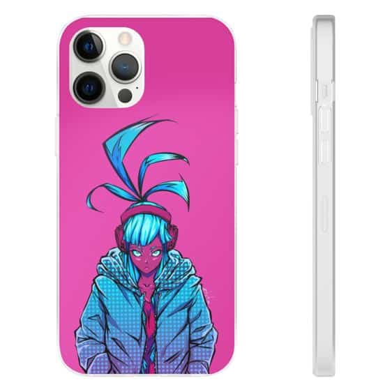Amazing Cyberpunk 2077 Vibrant Pink iPhone 12 Cover