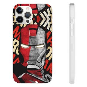 Amazing Iron Man Mark III Armor iPhone 12 Fitted Case