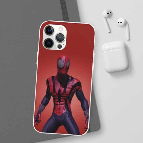 Amazing Spider-Man Animated Art Red iPhone 12 Cover