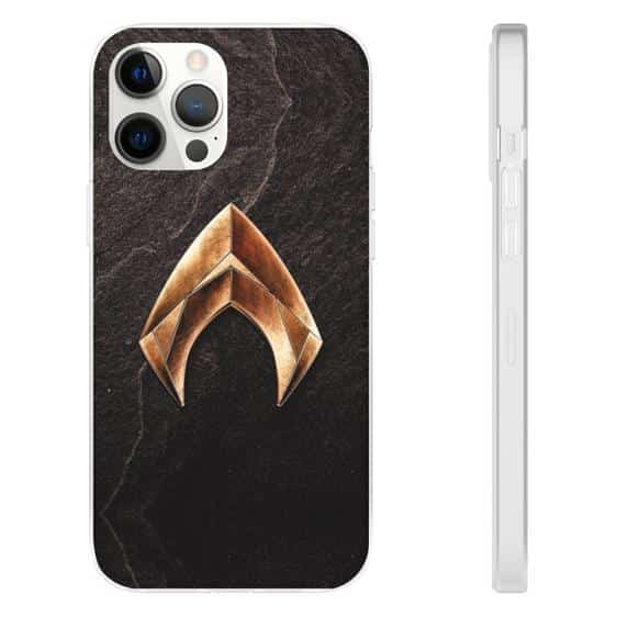Awesome Aquaman Spearhead Motif Logo iPhone 12 Cover