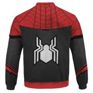Spider-Man Far From Home Cosplay Costume Dope Bomber Jacket