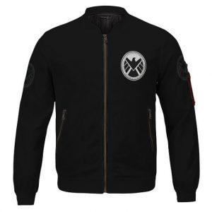 Amazing Agent Of S.H.I.E.L.D. Uniform Black Bomber Jacket