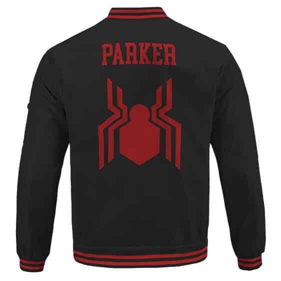 Spider-Man Peter Parker Classic Uniform Letterman Jacket