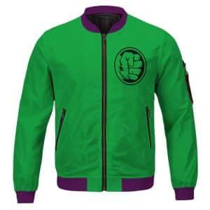 The Indestructible Hulk Bruce Banner Green Letterman Jacket