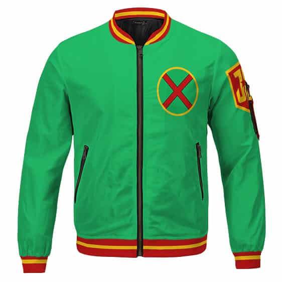 Martian Manhunter J'onn J'onzz Logo Awesome Bomber Jacket