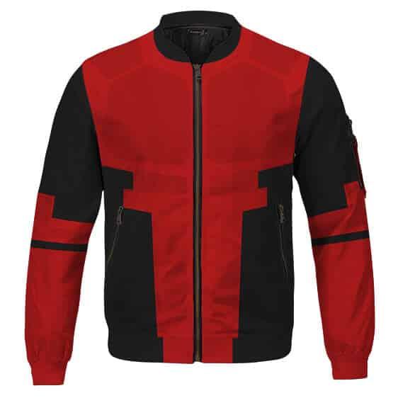 Dope Deadpool Wade Wilson Cosplay Costume Bomber Jacket
