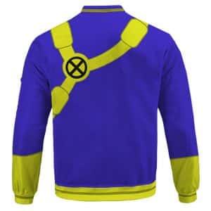X-men Cyclops Scott Summers Costume Cosplay Letterman Jacket