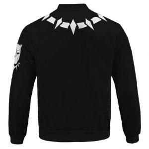 King Of Wakanda Black Panther Necklace Minimalistic Bomber Jacket