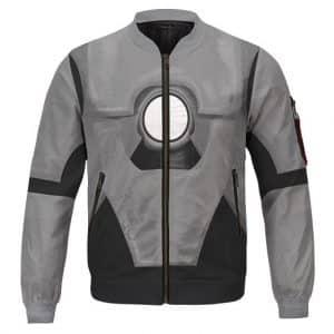 Iron Man Tony Stark MARK 1 Costume Cosplay Bomber Jacket