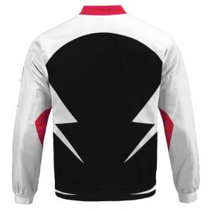 Spider-Gwen Into The Spider-Verse Costume Cosplay Bomber Jacket