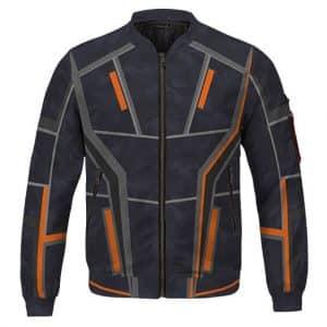 Avengers Endgame Tony Stark Nano Suit Cosplay Bomber Jacket