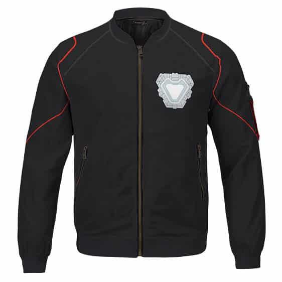 Endgame Iron Man Tony Stark Undersuit Cosplay Letterman Jacket