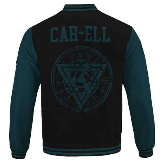 Captain Marvel Car-Ell Kree Empire Logo Dope Letterman Jacket