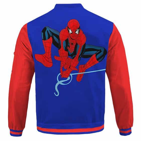 The Amazing Spider-Man Vintage Comics Theme Bomber Jacket