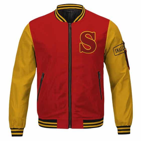 Superman Clark Kent Smallville Crows Football Team Varsity Jacket