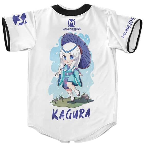 Mobile Legends Bang Bang Cute Kagura Artwork Baseball Shirt