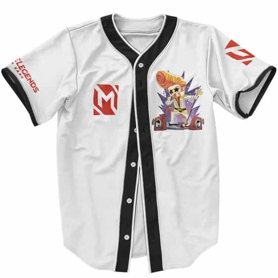 Mobile Legends Bang Bang Chibi Sun Artwork Baseball Jersey