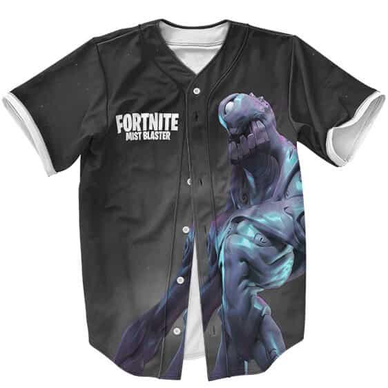 Amazing Fortnite Mist Blaster Monster Artwork Baseball Shirt