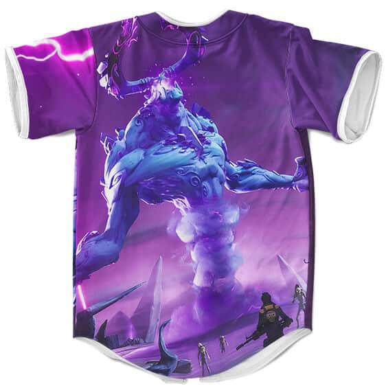 Fortnite The Electrifying Storm King Monster Cool Baseball Jersey