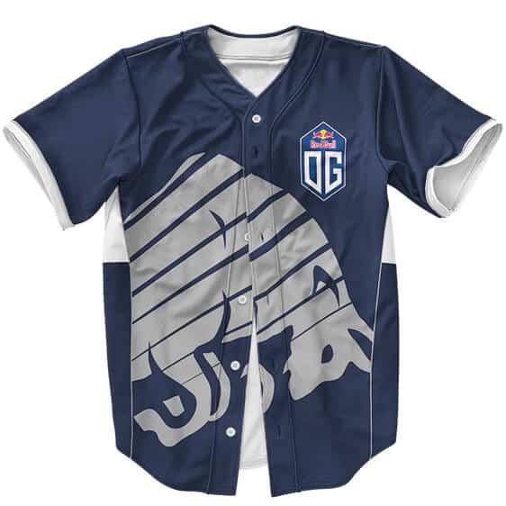 Awesome DOTA 2 Team OG Logo Esports Style Baseball Uniform