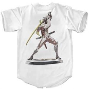 Overwatch Genji Shimada The Sparrow Battle Pose Baseball Shirt