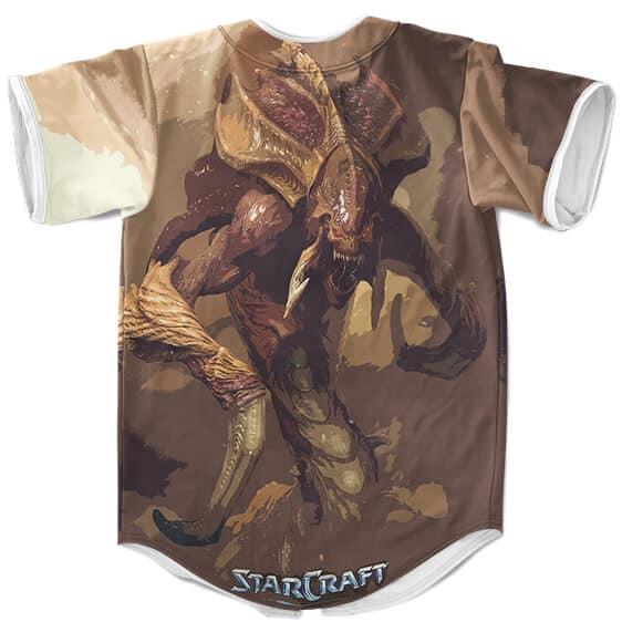 Awesome StarCraft Zerg Hydralisk Artwork Baseball Uniform