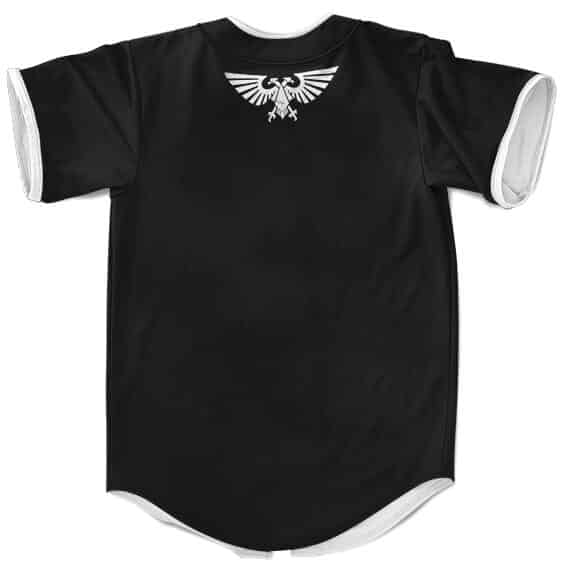 Warhammer 40k Imperium Of Man Epic Logo Baseball Shirt