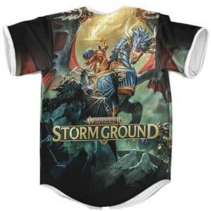 Warhammer Age Of Sigmar Storm Ground Artwork Baseball Jersey