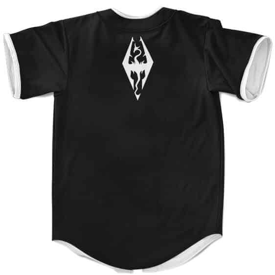 The Elder Scrolls Skyrim Know Your Shadowmarks Baseball Shirt