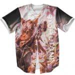 Biomutant Primal Breed Battle Mode Pose Baseball Uniform