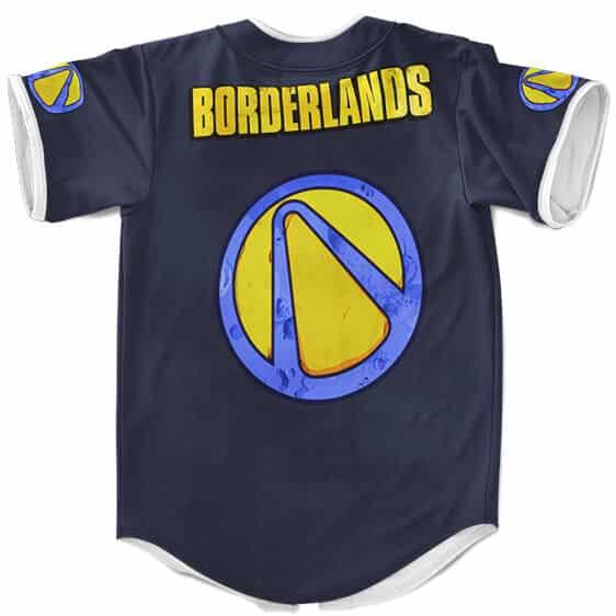 Borderlands 2 Comics Cover Design Amazing Baseball Jersey